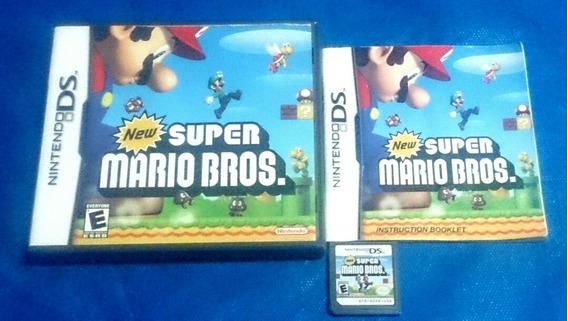 New Super Mario Bros Ds Original Na Caixa Completo