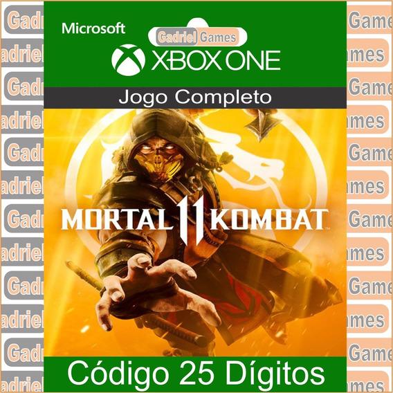 Mortal Kombat 11 Xbox One Código 25 Dígitos Oficial
