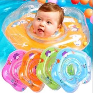 Flotador Salvavidas Cuello Bebe Niños Inflable Cuchitostore