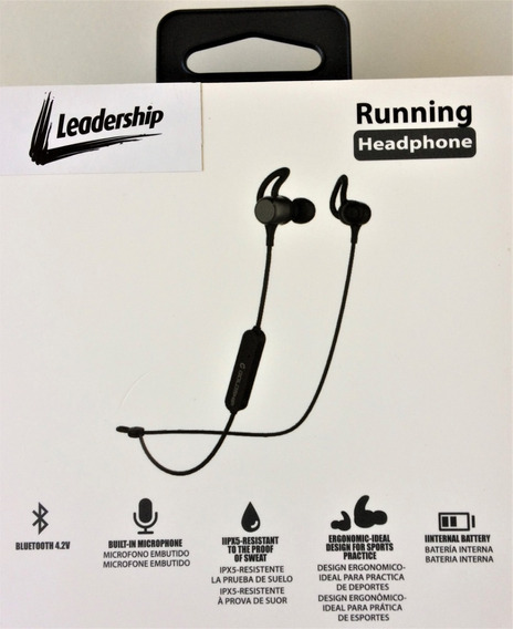 Fone De Ouvido P/maratona Headphone Running C/nf