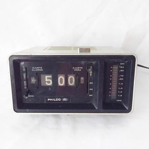 Antigo Radio Relógio Philco Ford