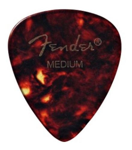 Pack De Plumillas Picks Fender X12 Medium Premium