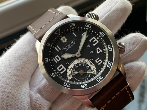 Relógio Victorinox Swissarmy Airboss Mach4 Mechanical 241381