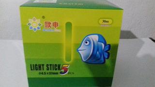 Bastão Luz Quimica Pesca 4.5/ 37mm / 30 Mts 250 Pçs
