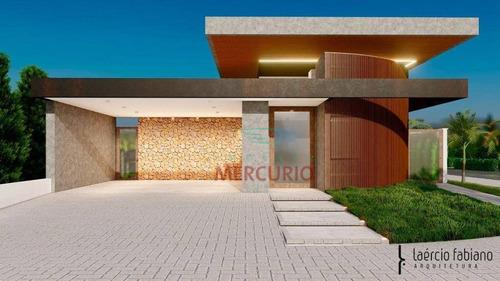 Casa À Venda, 210 M² Por R$ 1.590.000,00 - Tamboré Bauru - Bauru/sp - Ca3321
