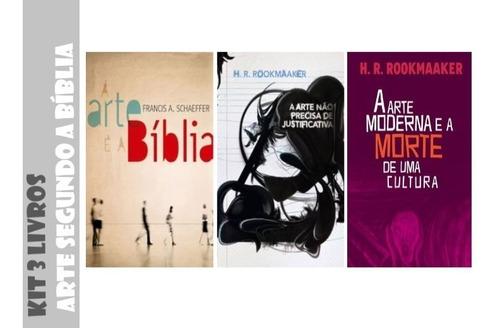 Kit 3 Livros - Exposições Sobre Arte Segundo A Bíblia