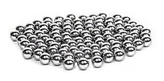 Esferas 7,15 Mm 100 Unida Aço Para Estilingue Besta