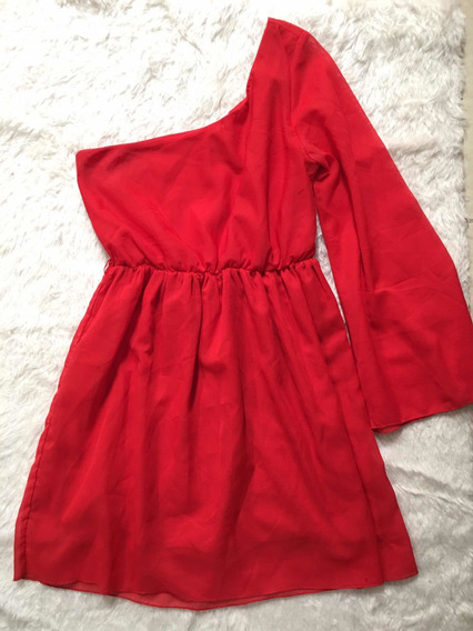 Vestido Rojo, Talla S, Casual O Para Fiesta
