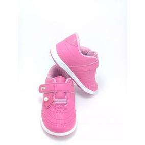 Tênis Infantil Kidy Tamanhos 19 Ou 21 - Menina Pink - 20264