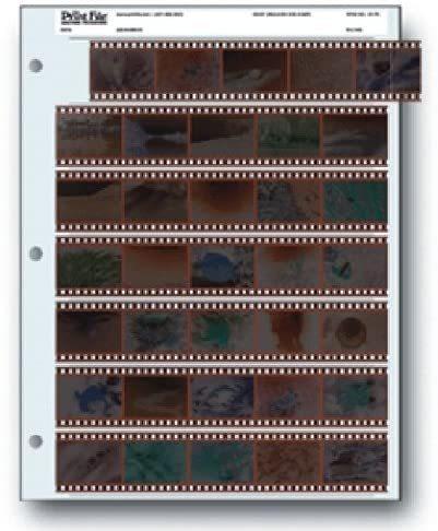 Imagen 1 de 1 de Almacenamiento De Archivo Hojas 35 7b25 De Película De 35 M