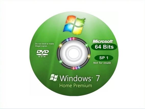 Cd Windows 7 Home Premium 64bits Ativado