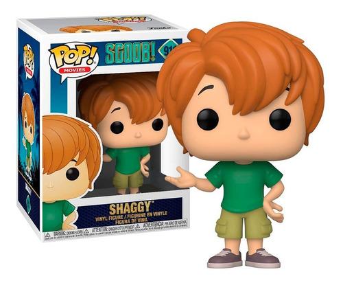 Boneco Funko Pop Shaggy Salsicha 911 - Scooby! Original