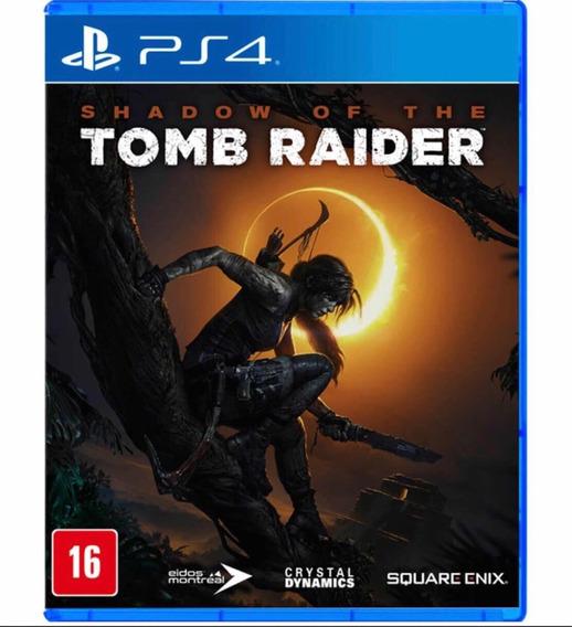 Jogo Tomb Raider Ps4 - Midia Fisica