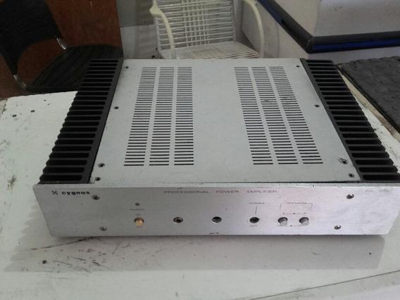 Amplificador Cygnus Pa-800, Classe Ab, Muito Bem Conservado