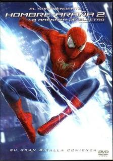 El Hombre Araña 2 La Amenaza D Electro Dvd Nuevo Cerrado