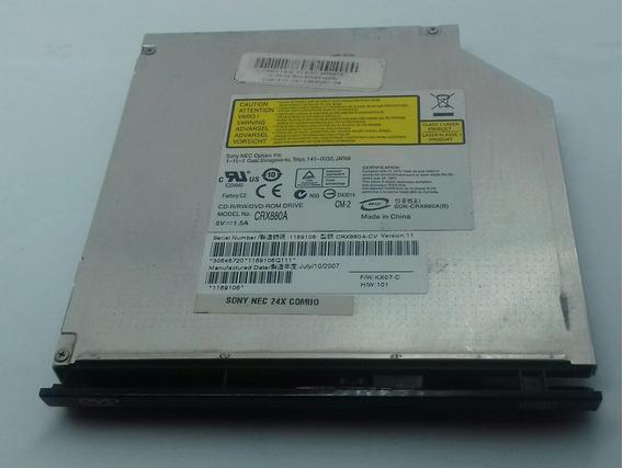 Leitor Gravador Dvd Cd Notebook Sony Vaio Crx880a,original.