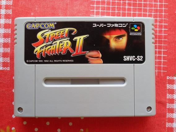 Cartucho Street Fighter 2 100% Original Snes/sf Frete Grátis