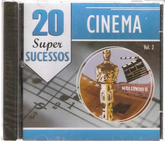 Cd Cinema - 20 Super Sucessos Vol. 2