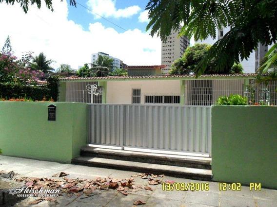 Casa Com 3 Dormitórios Para Alugar, 280 M² Por R$ 6.500,00/mês - Casa Forte - Recife/pe - Ca0137