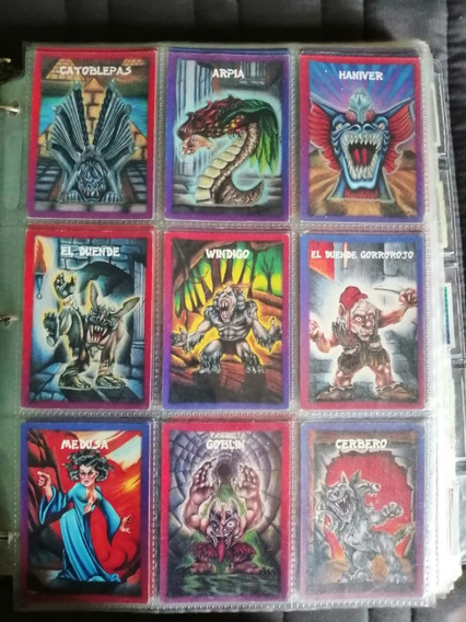 Monstruos De Bolsillo Sonrics México Semi Colección