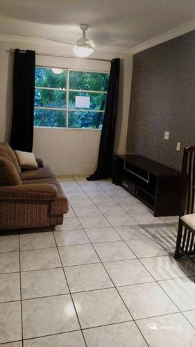 Apartamento Com 2 Dormitórios À Venda, 54 M² Por R$ 225.000,00 - Jardim Santo André - Santo André/sp - Ap0602