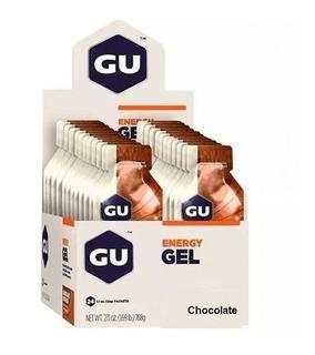 Gu Gel Gu Energy Caixa Com 24 Sachês Chocolate [nota Fiscal]