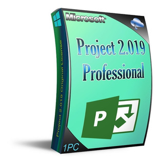 Licencia Project Profesional 2019, 1 Pc