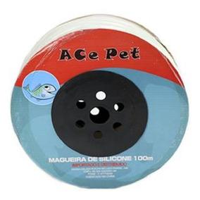 20m Mangueira De Silicone P/ Aquários Compressores Ace Pet