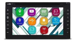 Multimidia 2 Din Tay Tech T95 Dual Plus 7 Pol. Gps Tv Espelh