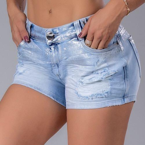 Shorts Pit Bull Jeans Original Ref. 32696 C/ Bojo Removível
