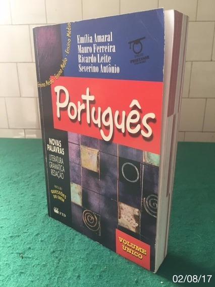 * Livro De Português - Literatura - Gramática - Redação *