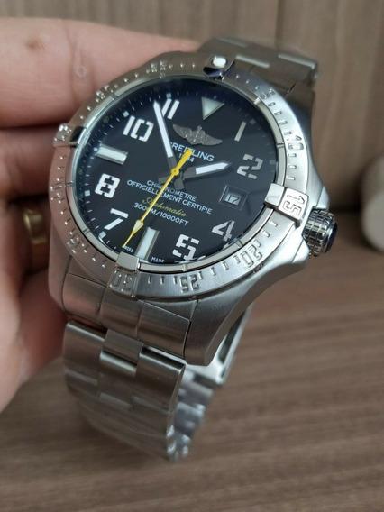 Relógio Breitling Chronometre Automático Frete Grátis 12x