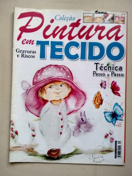 Revista Pintura Em Tecido 35 Técnica Passo A Passo C882