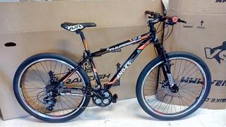 Bicicleta Mtb Rodado 27.5 Talle M 17 Frenos Discos 21v