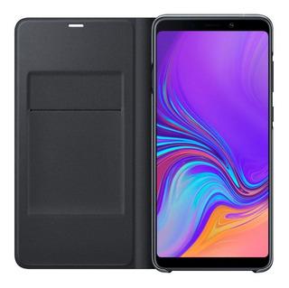 Capa Protetora Flip Wallet Galaxy A9 Preto
