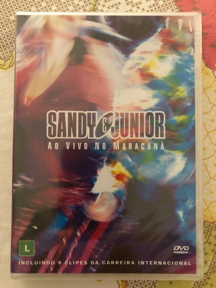 Dvd Sandy E Junior - Combo Maracanã E Quatro Estações.