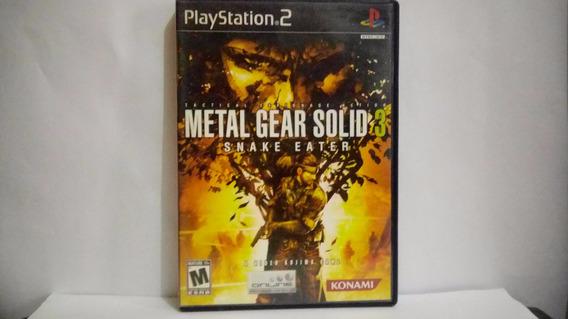 Metal Gear Solid 3 Snake Eater - Original Americano Ps2