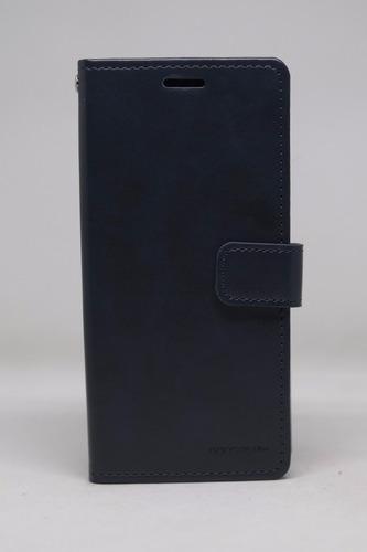 Imagen 1 de 4 de Funda Galaxy S8 Goospery Bluemoon Diary Cartera Navy