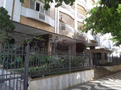 Apartamento Com 3 Dormitórios + Dependência, 50 M Da Praia Para Alugar, 160 M² Por R$ 4.300/mês O Pacote - Boqueirão - Santos/sp - Ap8839