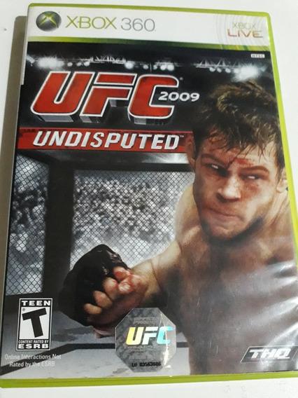 Ufc 2009 Undisputed Xbox 360 Mídia Física