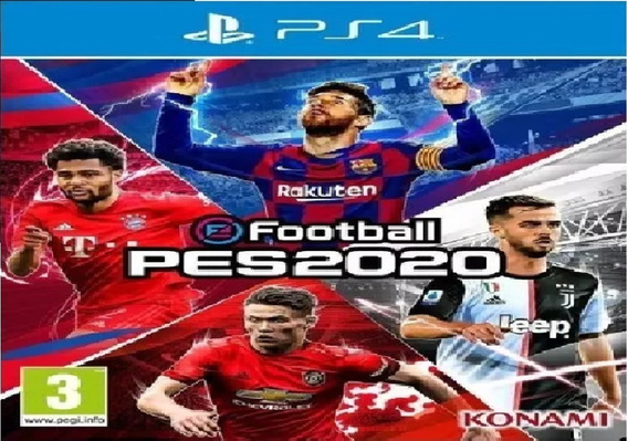 Efootball Pes 2020 | Standard Edition Ps4 Psn Receba Hoje