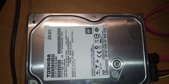 Disco Duro Interno 500gb Sata 3.5 Dvr Pc Toshiba