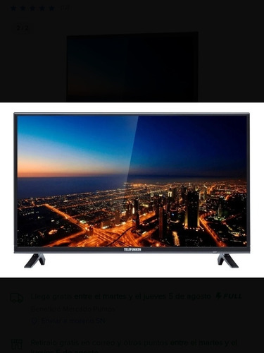 Imagen 1 de 2 de Smart Tv Telefunken Modelo Tk4319fk5 43  Led Full Hd