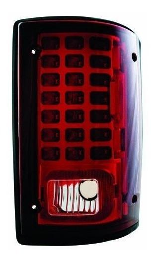 Ipcw Ledt-502cr Ruby Red Led Lámpara De Cola - Par