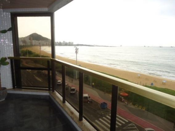 4 Quartos Com 2 Suites, Na Pria Da Costa De Frente Para O Mar. - 2000028