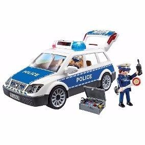 Playmobil 6920 Auto De Policia Con Luz Y Sonido