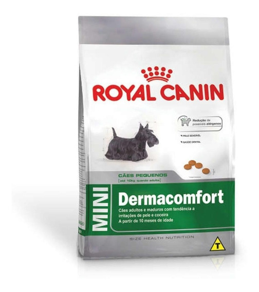 Ração Royal Canin Mini Dermaconfort 7,5 Kg