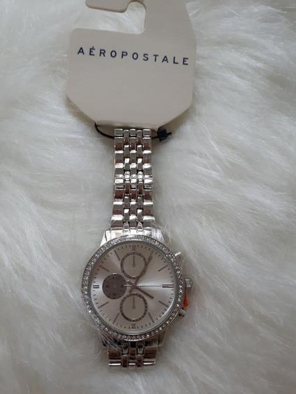 Relógio Feminino Aeropostale Analógico Original Strass