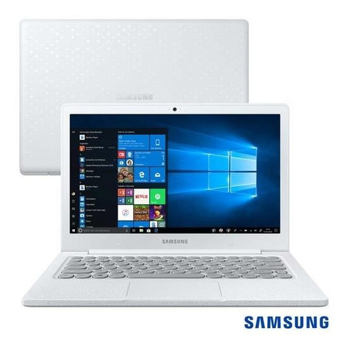 "Notebook - Samsung Np530xbb-ad2br Celeron N4000 1.10ghz 4gb 64gb Ssd Windows 10 Home Flash 13,3"" Polegadas"