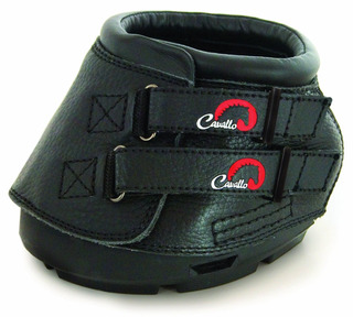 Cavallo Simple Hoof Boot For Horses, Black, Negro, Tamaño 2